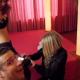 Elise behind the scenes bij een pornoshoot