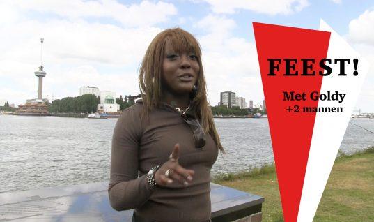 Feest in Rotterdam