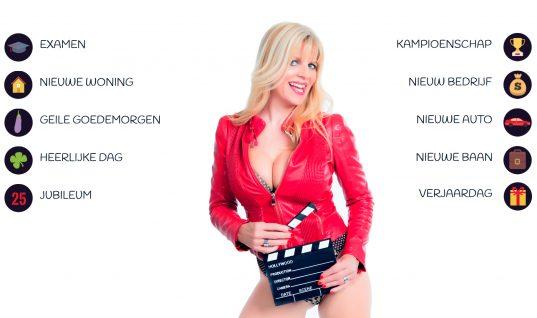 Stuur een digitale video wenskaart met Kim Holland