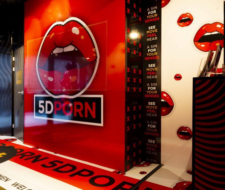 De eerste 5D seksbioscoop ter wereld