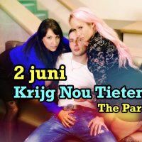 """Voorproefje """"Krijg Nou Tieten"""" Party"""