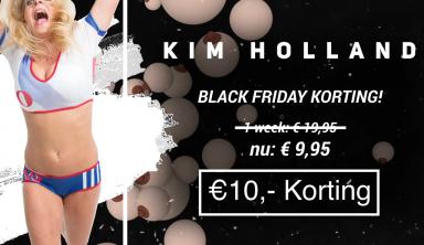 Super Black Friday korting bij Kim Holland - Blog Kim Holland